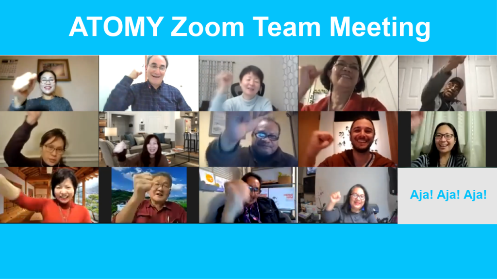Zoom Team Meeting - Atomy Income Seekers - The Power Team